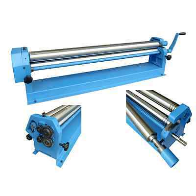 41 Metz Tools Sheet Metal working Slip Roll tool machine 305mm x 25.4mm rolls