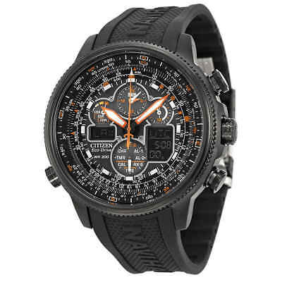 Citizen Promaster Navihawk A-T Eco Drive Black Dial Men's Watch JY8035-04E