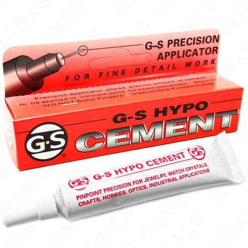 GS Hypo Cement Precision Applicator Glue Jewelry Craft Hobby Rhinestone - 1/3 oz