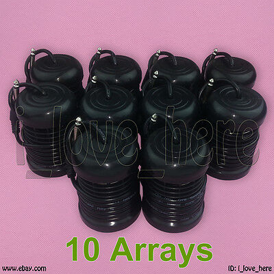 10 Hyacinthine Round Arrays for Ionic Detox Foot Bath Spa Cleanse Machine Accessories