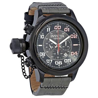 Invicta Russian Diver Chronograph Black Dial Mens Watch 22289