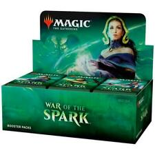 MAGIC THE GATHERING WAR OF THE SPARK BOOSTER BOX ENGLISH SEALED