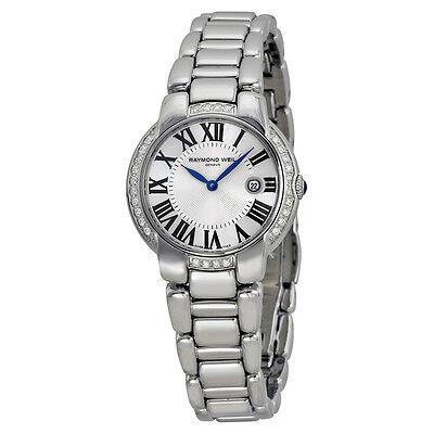 Raymond Weil Jasmine Diamond Silver Dial  Ladies Watch 5229-STS-00659