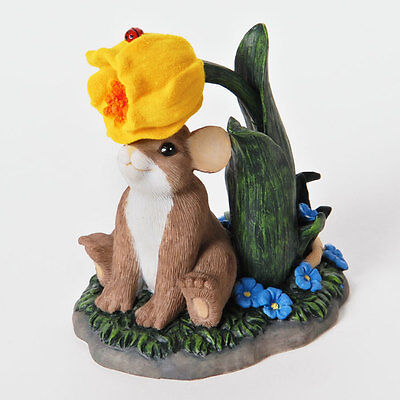 Charming Tails You've Been on My Mind Friend Figure Mouse Enesco 4025763 NEW NIB