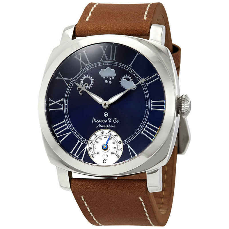 Picasso and Co Atmosphere Navy Blue Dial Men Watch PWATMBLS