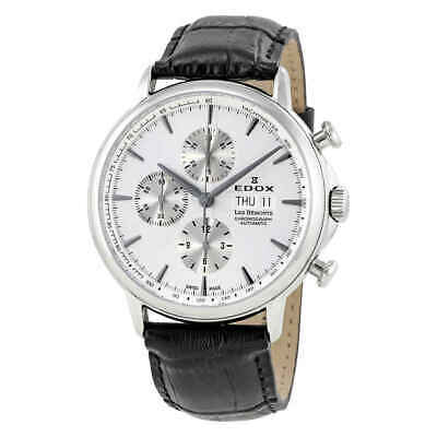 Edox Les Bemonts Chronograph Automatic Men's Watch 01120-3-AIN