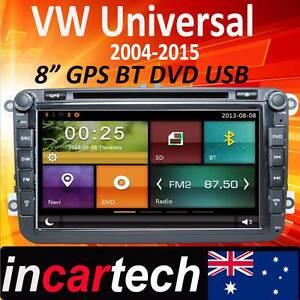 "VW Volkswagen Golf 8"" Head Unit GPS Sat NAV  DVD Stereo Radio Parramatta Parramatta Area Preview"