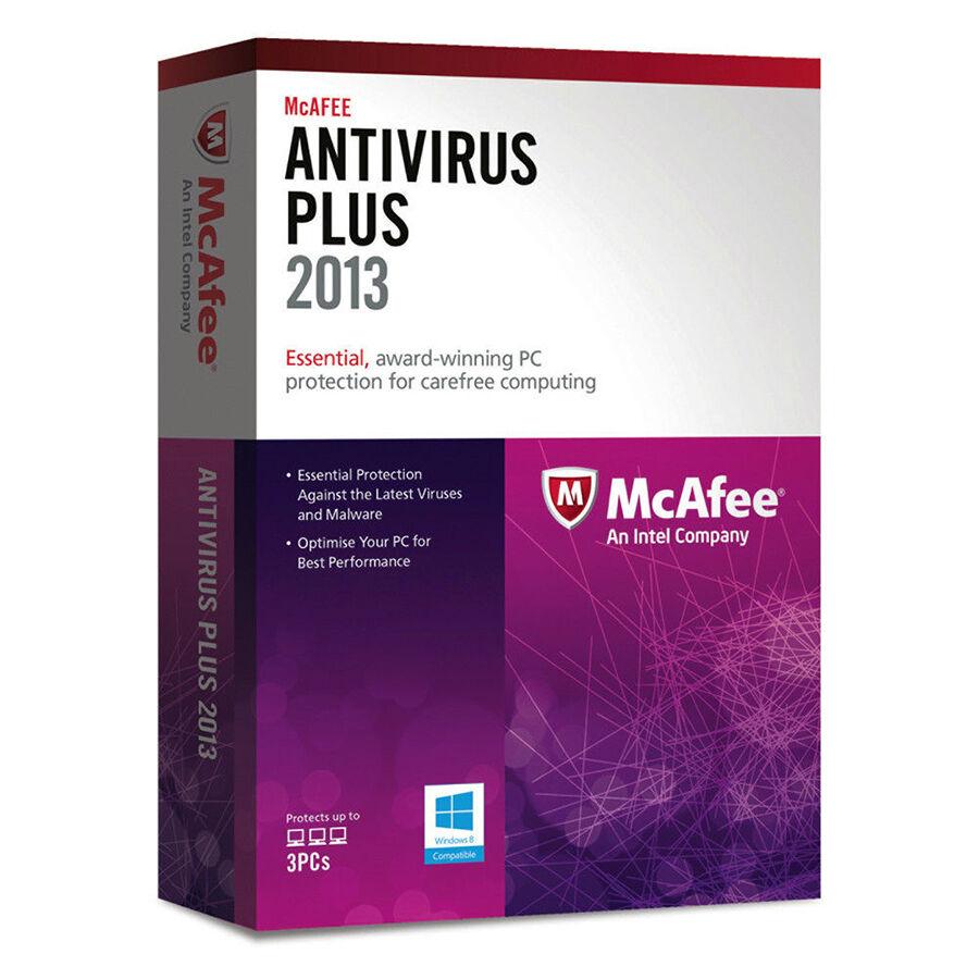 McAfee Antivirus Plus 2013