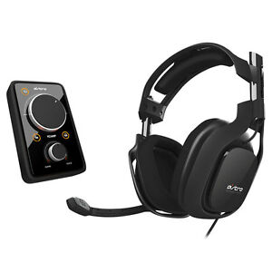 Refurbished-Astro-Gaming-A40-Wired-Audio-System-2013-Ed-Black-w-MixAmp-Pro