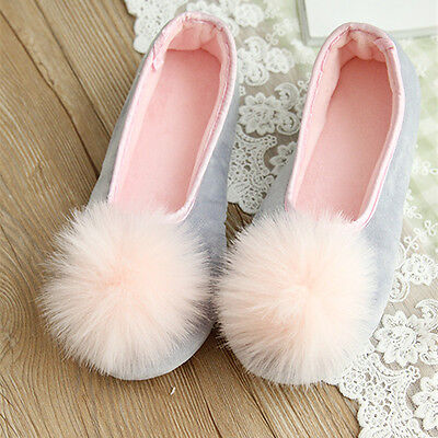 XMAS WOMEN INDOOR SHOES HOME SLIPPERS BALL SWEET AUTUMN WINTER  SLIPPERS