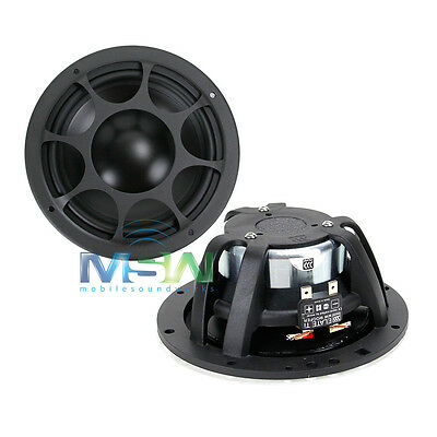 "MOREL ELATE MW 6 Ti 6-1/2"" TITANIUM CAR AUDIO MID WOOFER DRIVERS SPEAKERS MW6"