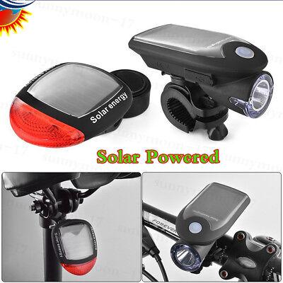 PL-SLMR Solar Powered Red LED Bike Bicycle Rear Tail Light