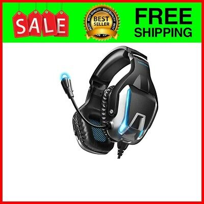 Gaming Headphones Bluetooth Best Wireless For PC Laptop PS4 XBox One Headset LED
