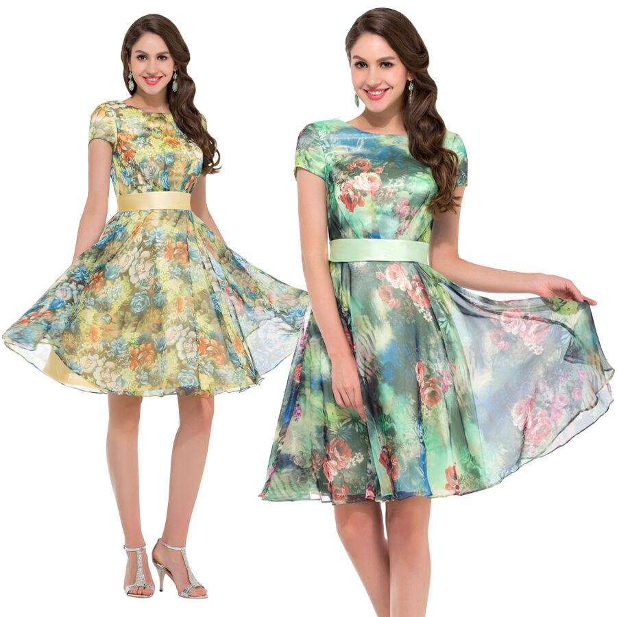 Ann es 50 de 60 robe vintage style swing pinup retro femme for Femme au foyer annees 50