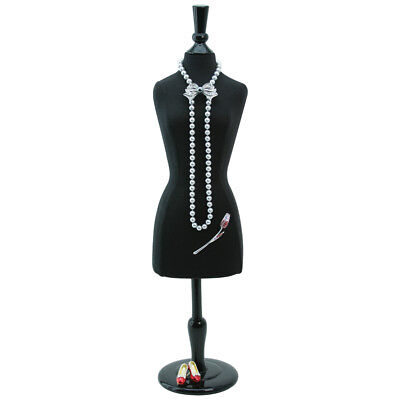 Jewelry Display Stand Mannequin Miniature Body Form Jewelry Showcase 22 516h