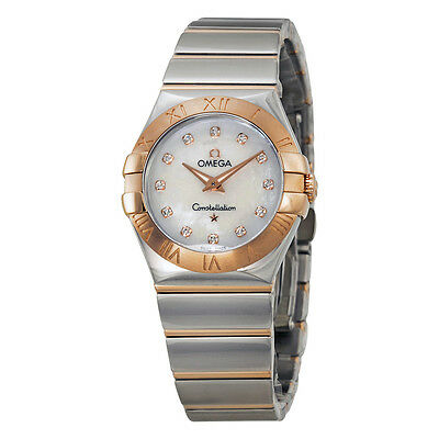 Omega Constellation Diamond Ladies Watch 12320276055003