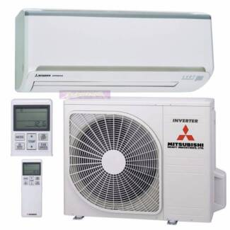 2.5 KW Mitsubishi Reverse Cycle Inverter Air Condioner Hope Island Gold Coast North Preview