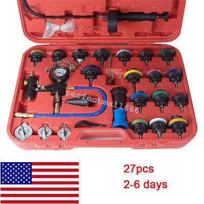 Universal Radiator Pressure Tester Kit Cooling System Water Tank Leakage Test