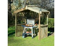 New Zest4Leisure Ashton BBQ Shelter Free Delivery