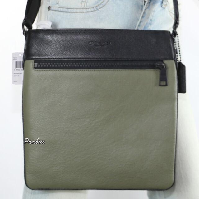 8ea7baa8c1f7 wholesale nwt coach mens bowery pebble leather messenger bag cross body  72101 new rare c8fad 8656d