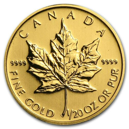 2009 1/20-oz Canadian Gold Maple Leaf .9999 Bullion