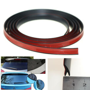 Y Shape 4m Weatherstrip Rubber Car Rear Window Edge Seal Trim Strip Universal