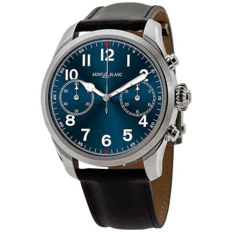 Montblanc-Summit-2-Smart-Watch-Blue-Dial-Unisex-Smart-Watch-119440