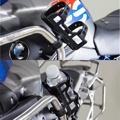 "Black Motorcycle 1"" Bar Mount Cup Holder Cage Water Bottle Bracket for BMW Honda for sale  China"
