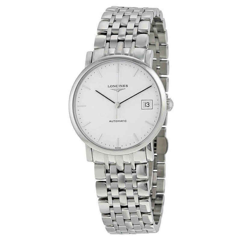 Longines Elegant Automatic White Dial Ladies Watch L48094126