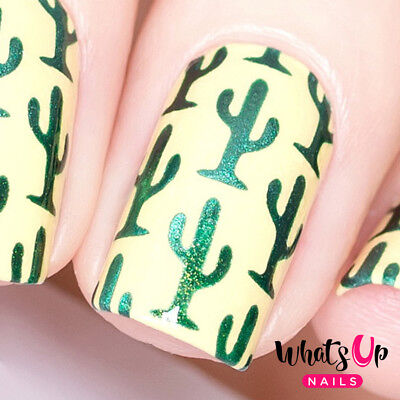 Cactus Stencils for Nails, Nail Stickers, Nail Art, Nail Vinyls for sale  Tempe