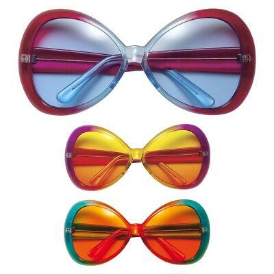 BRILLE # Karneval 70er 60er Jahre Kostüm Sonnenbrille 6714 (Brille Kostüm)