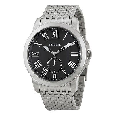 Fossil Men's Grant Slim Three-Hand Stainless Steel Watch FS4944
