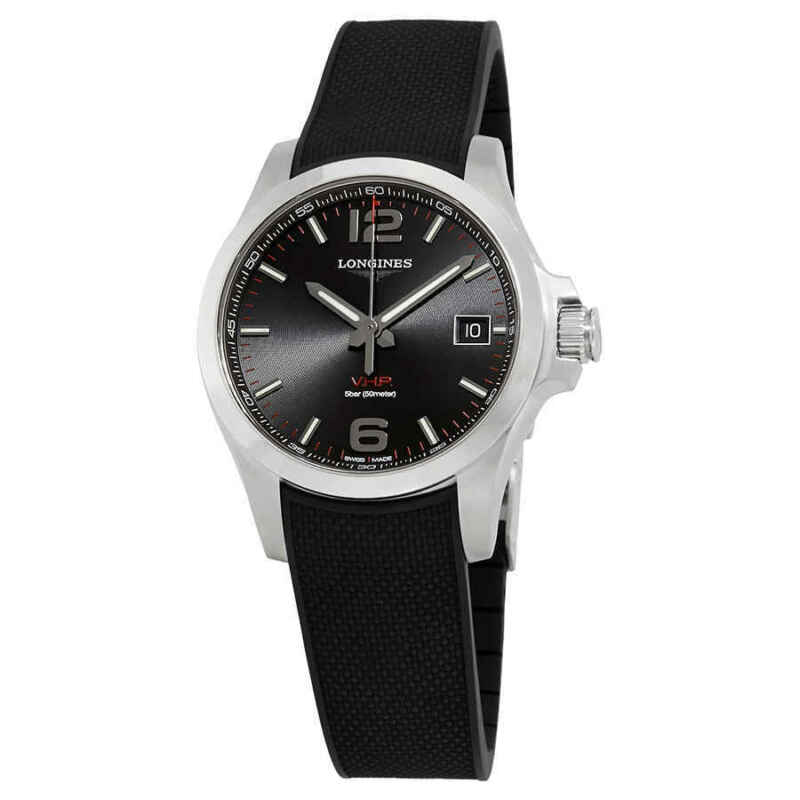 Longines Conquest V.H.P. Black Dial Men Watch L37164569