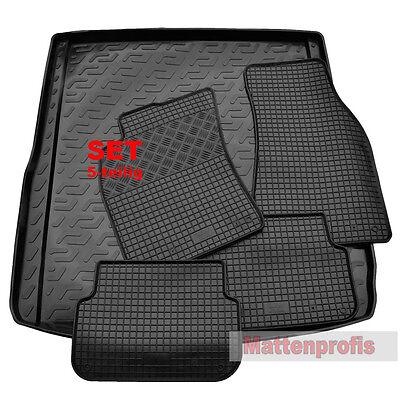 Gummimatten + Kofferraumwanne SET für Audi A6 4F C6 Avant ab Bj. 2005 - 2011 online kaufen