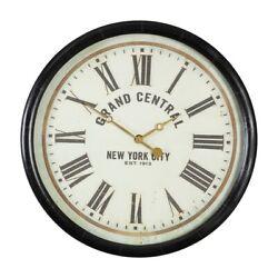 Uttermost Leonor Grand Central Wall Clock - 6098