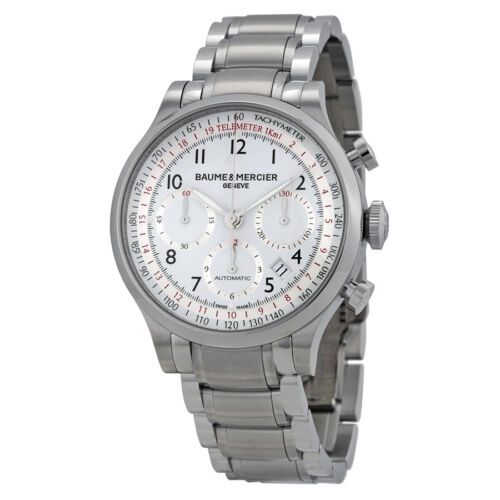 Baume and Mercier Capeland Chronograph Mens Watch MOA10061 - watch picture 1