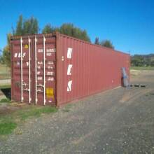 40 Foot High Cube Shipping Container Molong Cabonne Area Preview