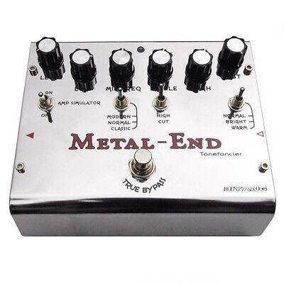 Biyang Metal End Pro Distortion Effects Pedal [Tonefancier Series]