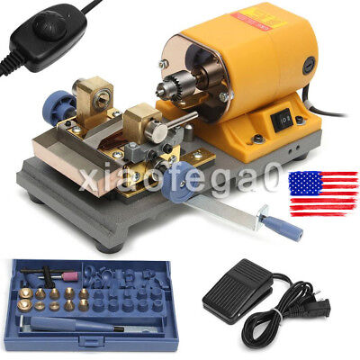 Pearl Beads Drilling Holing Machine Driller Jewelry Punch Tools Set 110V 220V US