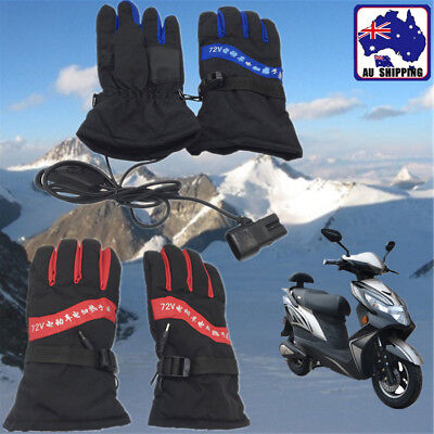 36-48V Electric Heating Heated Gloves Electrombile Winter Outdoor Glove CGLO836