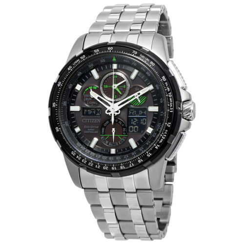 $319.99 - Citizen Skyhawk A-T Eco-Drive Stainless Steel Mens Watch JY8051-59E
