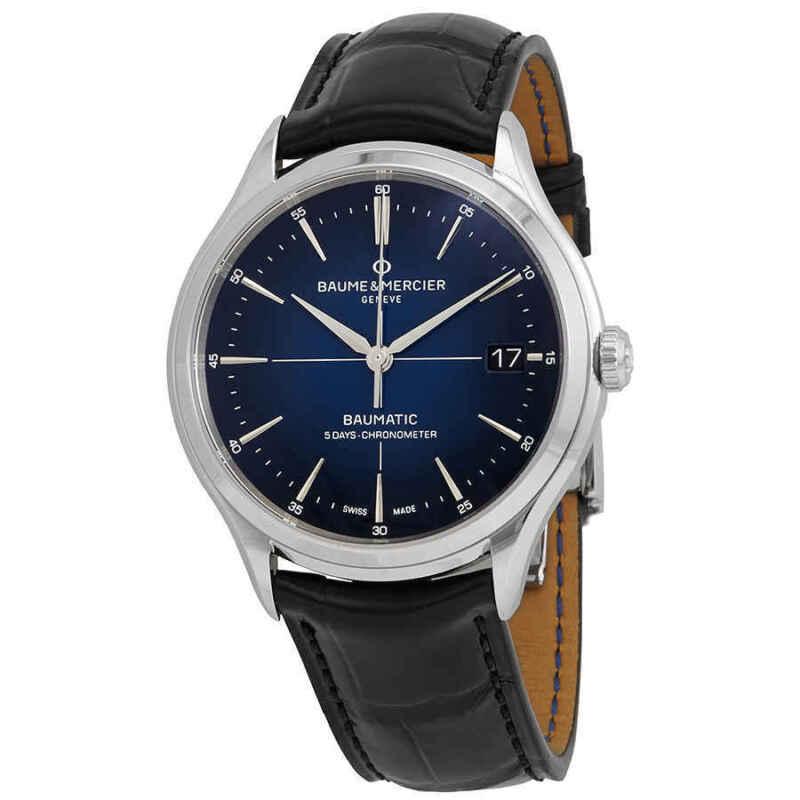 Baume et Mercier Clifton Baumatic Automatic Men's Watch 10467 - watch picture 1