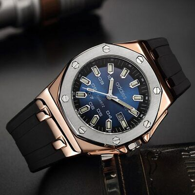 Best New Modern Luxury Men's Watch Quartz Sport Military Wristwatch With