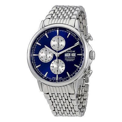 Edox Les Bemonts Chronograph Automatic Mens Watch 01120 3M BUIN