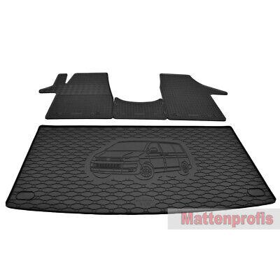 Fahrgastraumteppich Fußmatte Teppich für hinten VW Bus T3 Multivan Whitestar