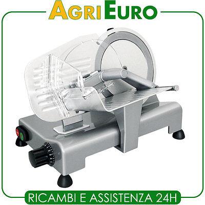 Affettatrice professionale RGV Lusso 195GL - Lama 195mm - 120W - Con affilatoio
