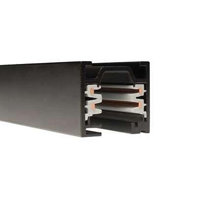 WAC Lighting W Track - W2 2 Circuit 120V Track - 12Ft, Black - WT12-BK