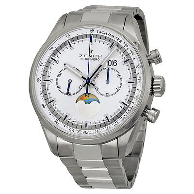 Zenith Chronomaster Stainless Steel Mens Watch 03.2160.4047/02.M2160