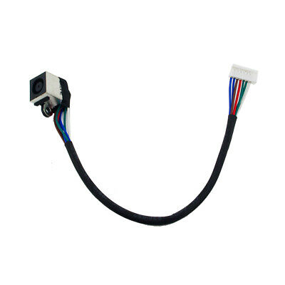 New DC Power Jack Socket Port And Cable Wire Dell XPS 15 L501X L502X DDGM6BPB00, usado segunda mano  Embacar hacia Argentina