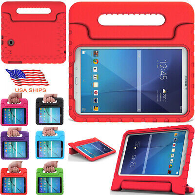 Tab Handles (For Samsung Galaxy Tab E 9.6 Tablet Kids Shockproof Foam Case Cover Handle Stand )